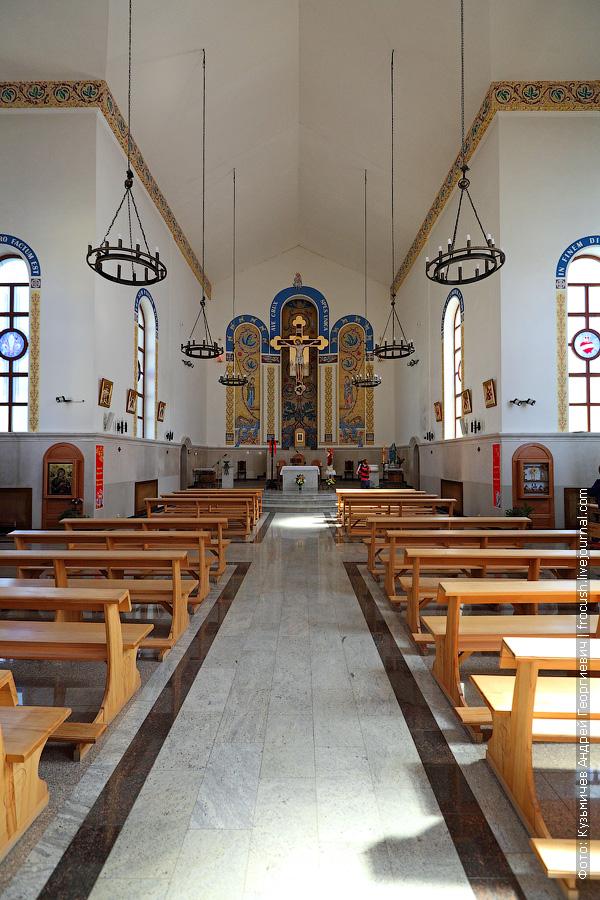 Казань католический храм «Воздвижения Святого Креста»