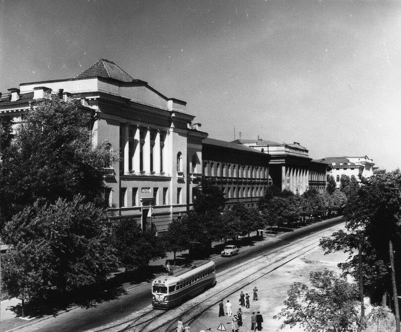 1952.09. Улица Владимирская
