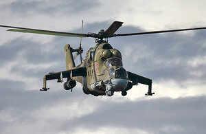 Погиб экипаж сбитого в Нагорном Карабахе вертолёта