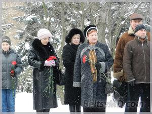 В Бельцах состоялась акция памяти жертв Холокоста