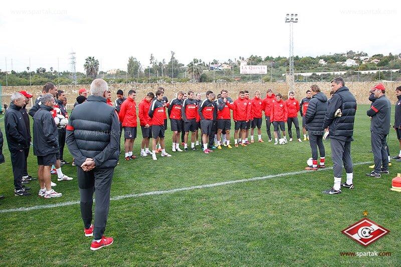 Первая тренировка «Спартака» на испанском сборе (Фото)