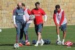 Тренировка Спартака накануне первого контрольного матча в Марбелье