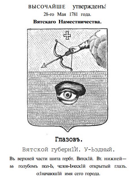 Герб глазова картинка
