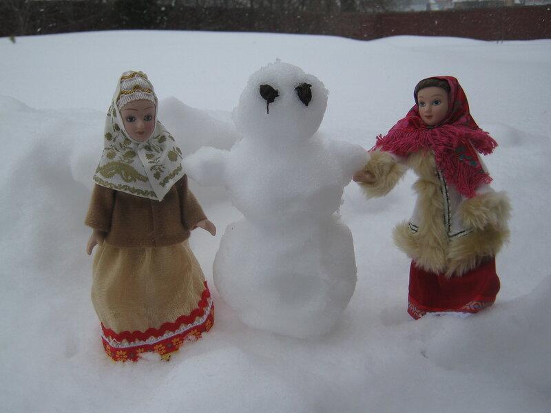 "Куклы в Народных Костюмах - Конкурс ""Поёт зима - аукает..."""