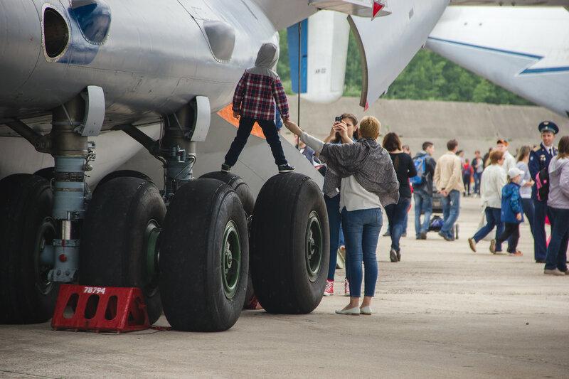 День открытых дверей на аэродроме в Мигалово