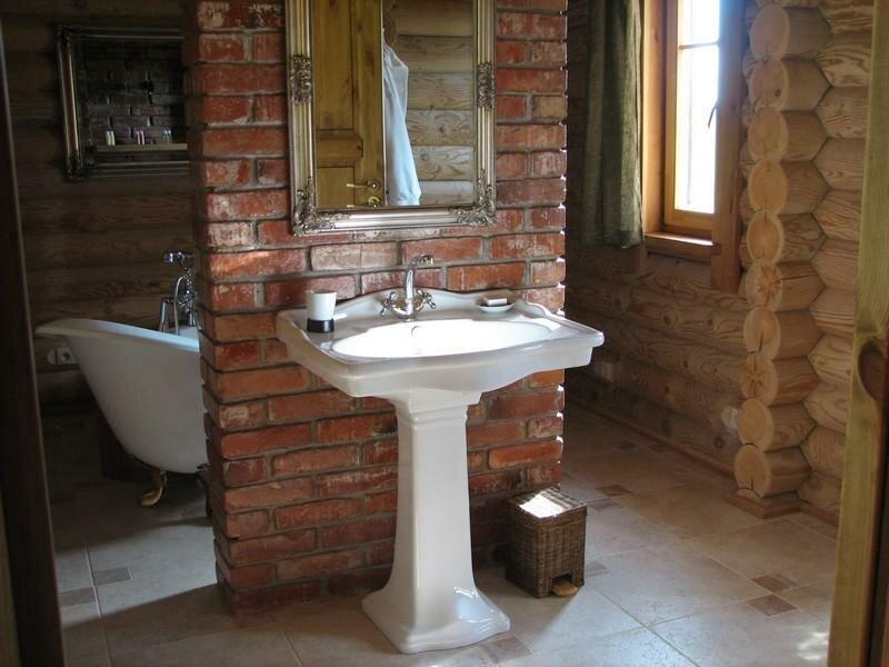 Гостевой дом 6 мест. Ванная