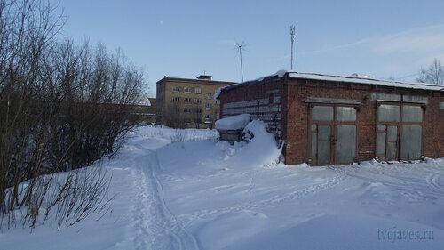 Фото города Инта №3726  Северо-западный угол Мира 18 19.02.2013_12:42