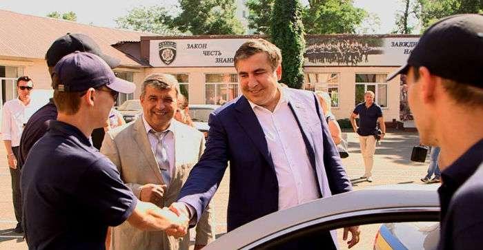 ВОдессе будет создана милиция погрузинскому образцу— Саакашвили