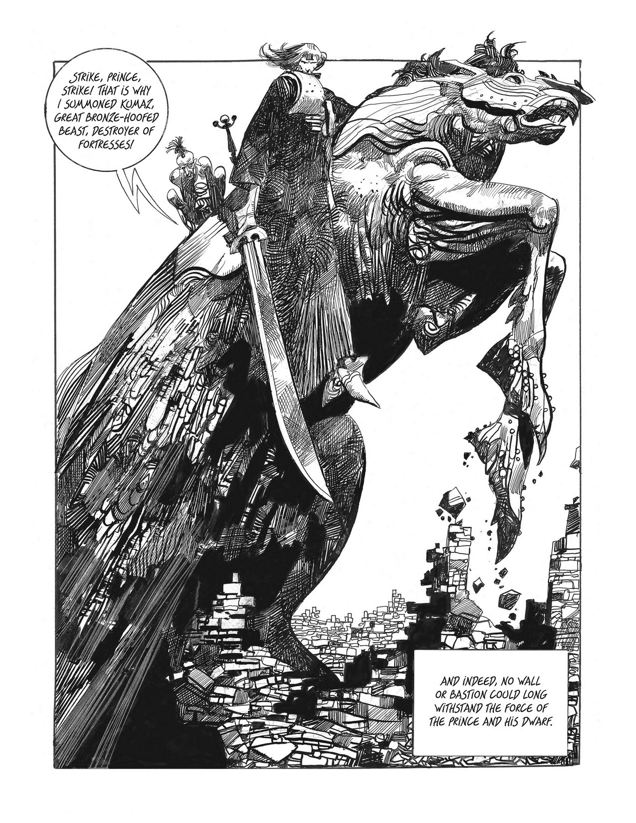 Sergio Toppi, Sharaz-de: Tales from the Arabian Nights