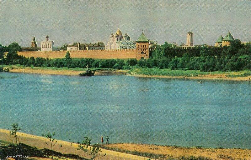 Новгород.  Кремль XI-XV вв.