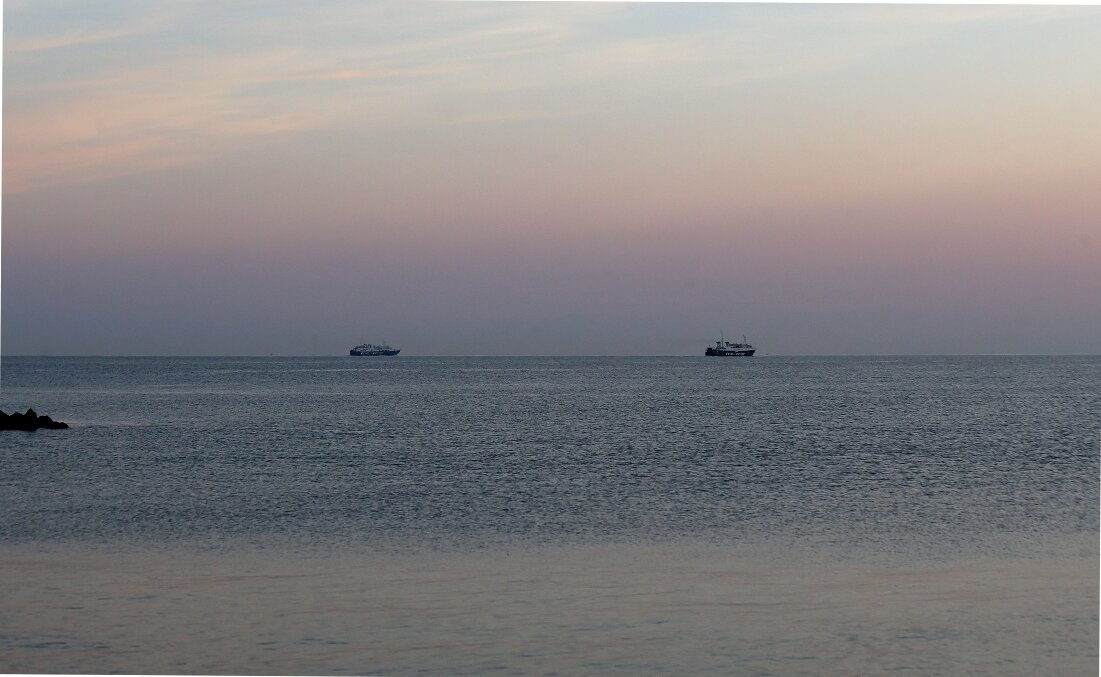 Рассвет в Неаполитанском заливе.