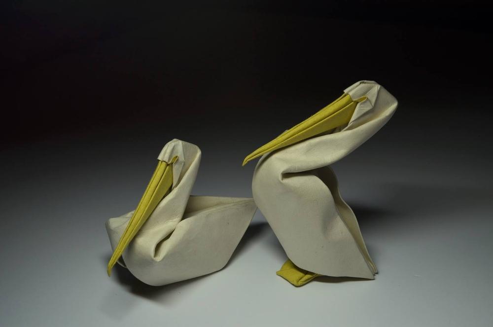 Оригами от Хоанга Тьен Куета