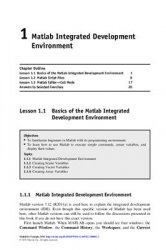 Книга MATLAB by Example: Programming Basics