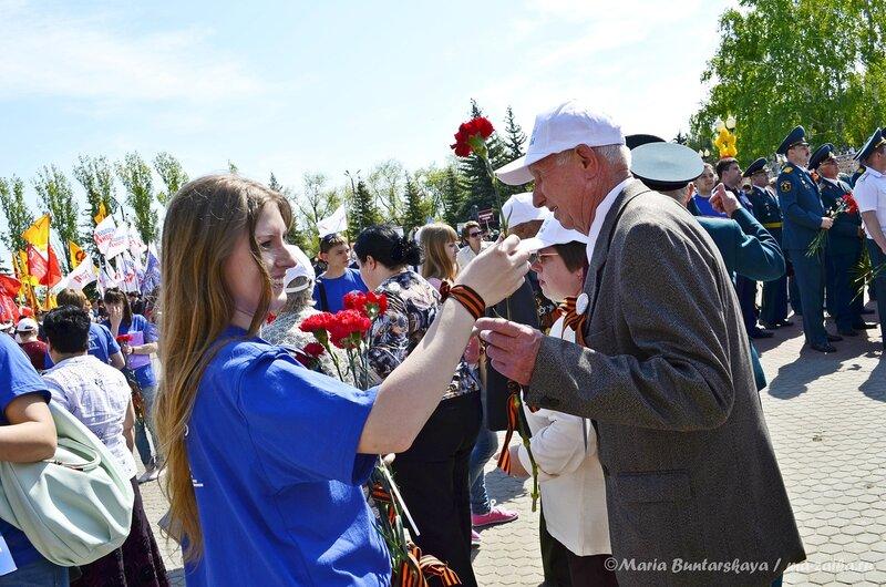 Ветераны, Саратов, 09 мая 2013 года