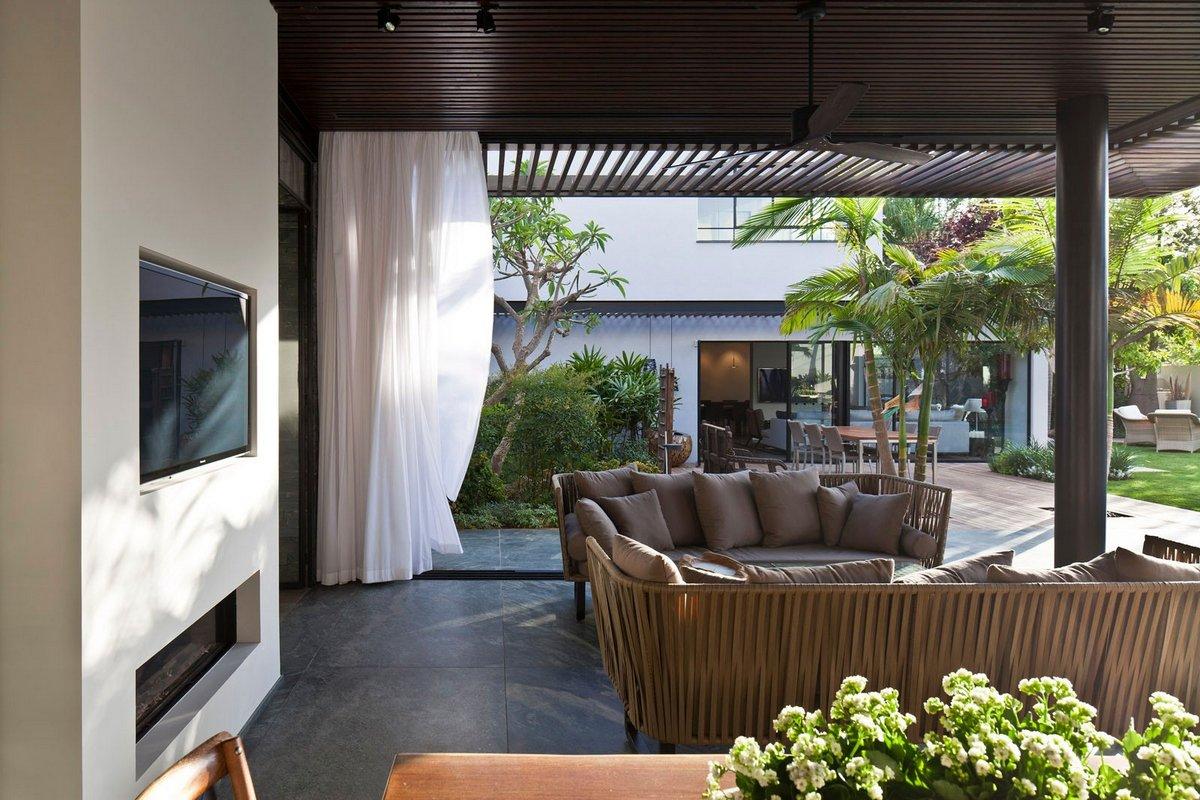 North TLV Home, Nurit Leshem, дома в Израиле, обзор роскошных домов, частные дома Тель-Авив, особняки в Израиле, частный дом с бассейном, панорамные окна