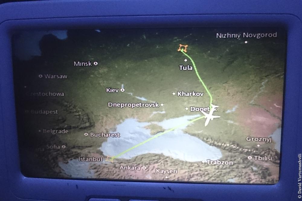 Конго ДР, перелет в Киншасу, облетаем Донбасс