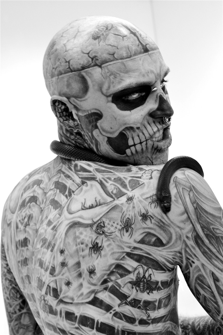 Rick Genest / Zombie Boy by Colin Singer in Tattoo Savage