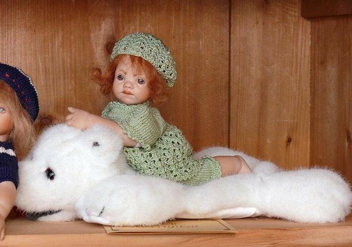 Мир эфемерной нежности от Hella Hofmann. Авторские куклы Хелла Хофманн