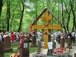 Празднование Дня Победы на воинском мемориале