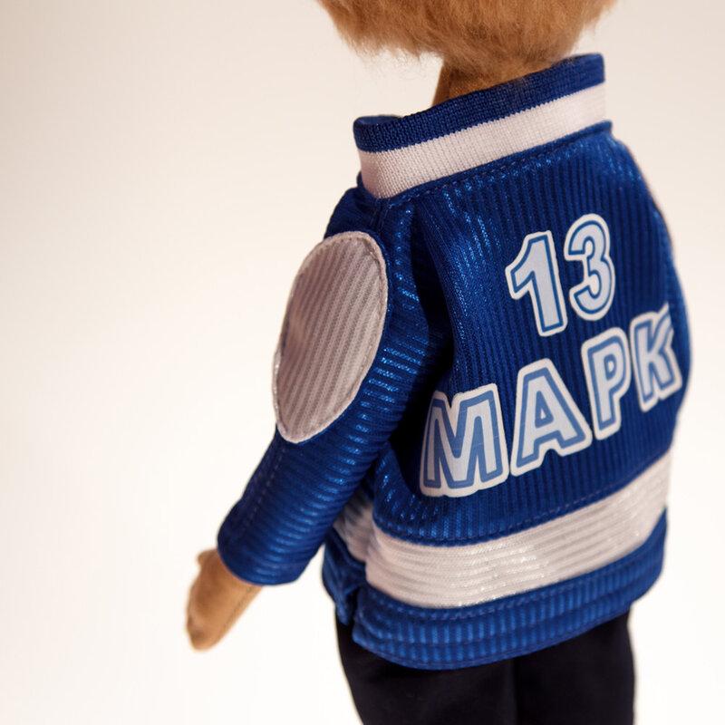 кукла хоккеист