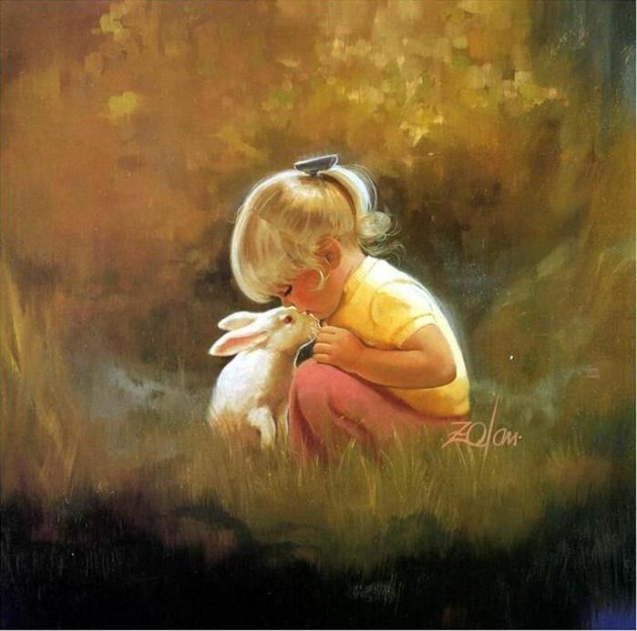Дональд Джеймс Золан. Мир беззаботного детства