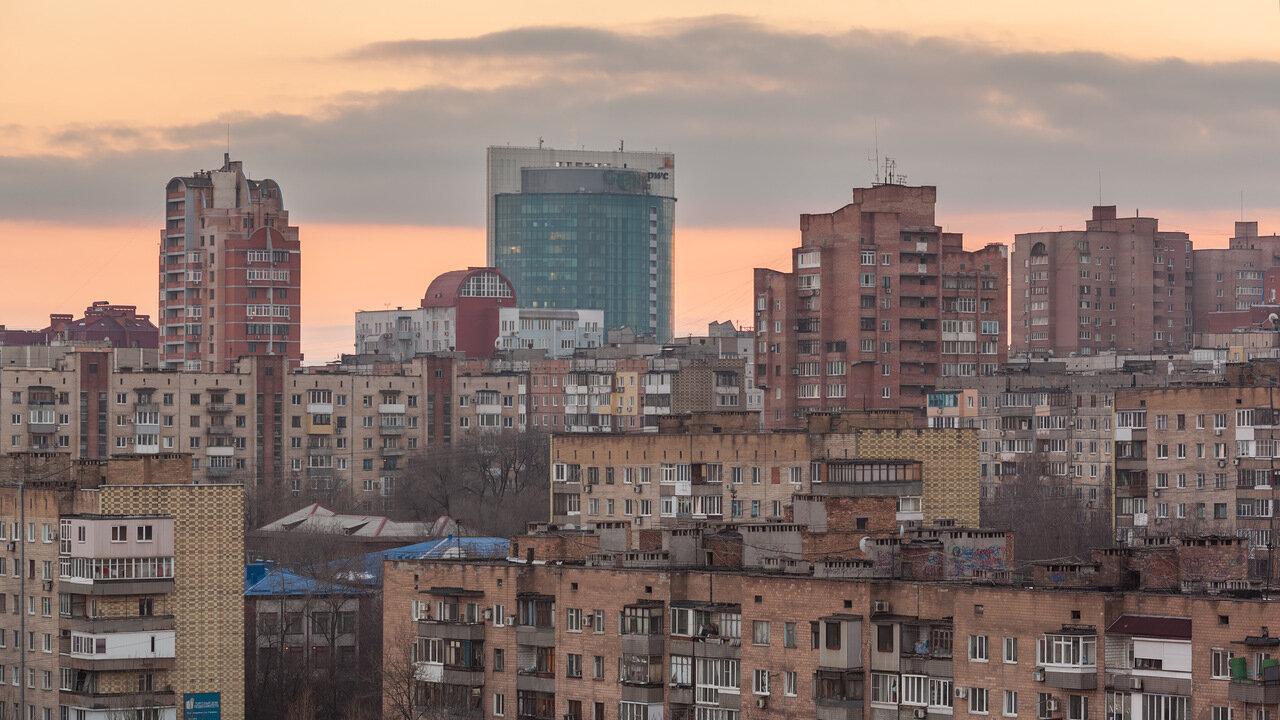 Вид на Донецк, ГРИН ПЛАЗА