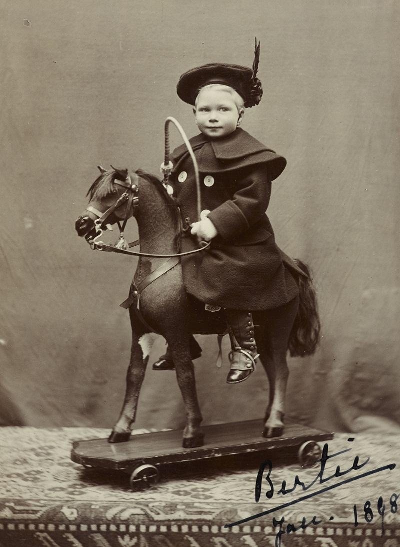 King George VI (1895-1952) when Prince Albert of York  Jan 1898