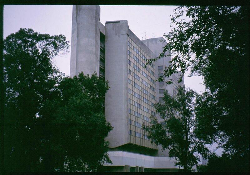 18. Гостиница Интурист в Хабаровске