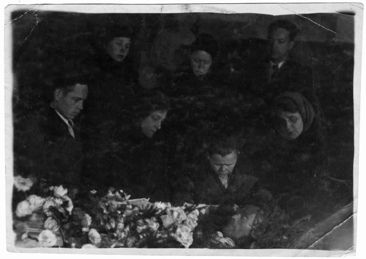 Похороны Леонида Васильевича