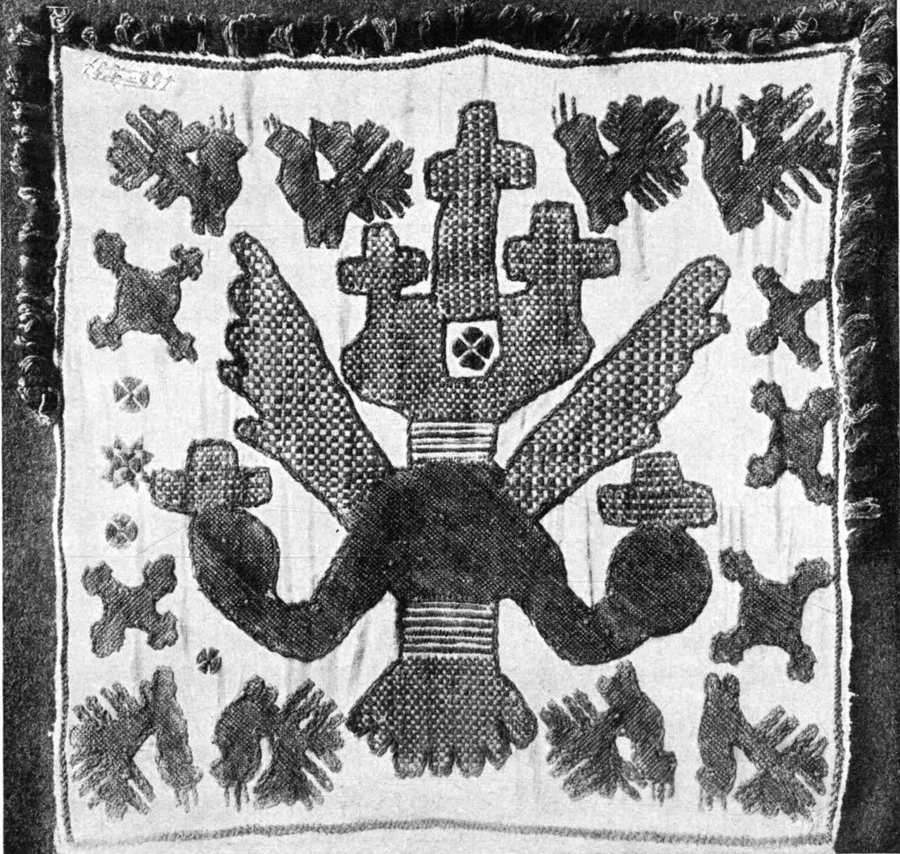 21. В селе Вышней Залегощи, Новосильского уезда, собрана была занчительная коллекция таких вышивок