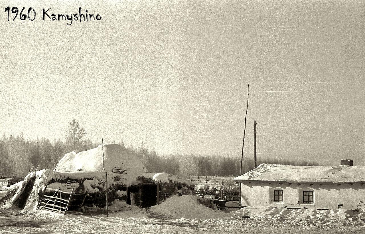 20. 1960. Сельский дворик