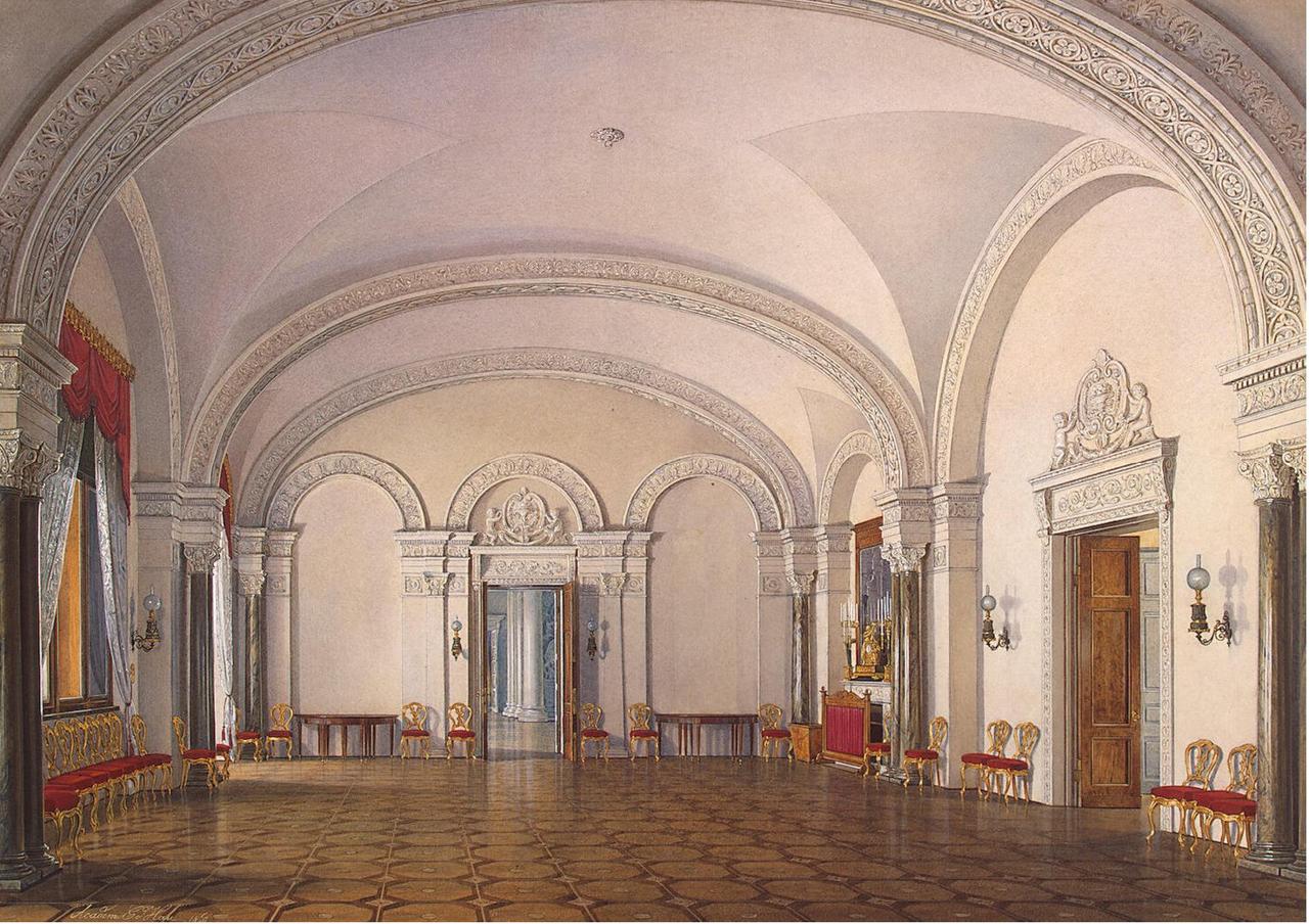 Интерьеры Зимнего дворца. Комната № 1