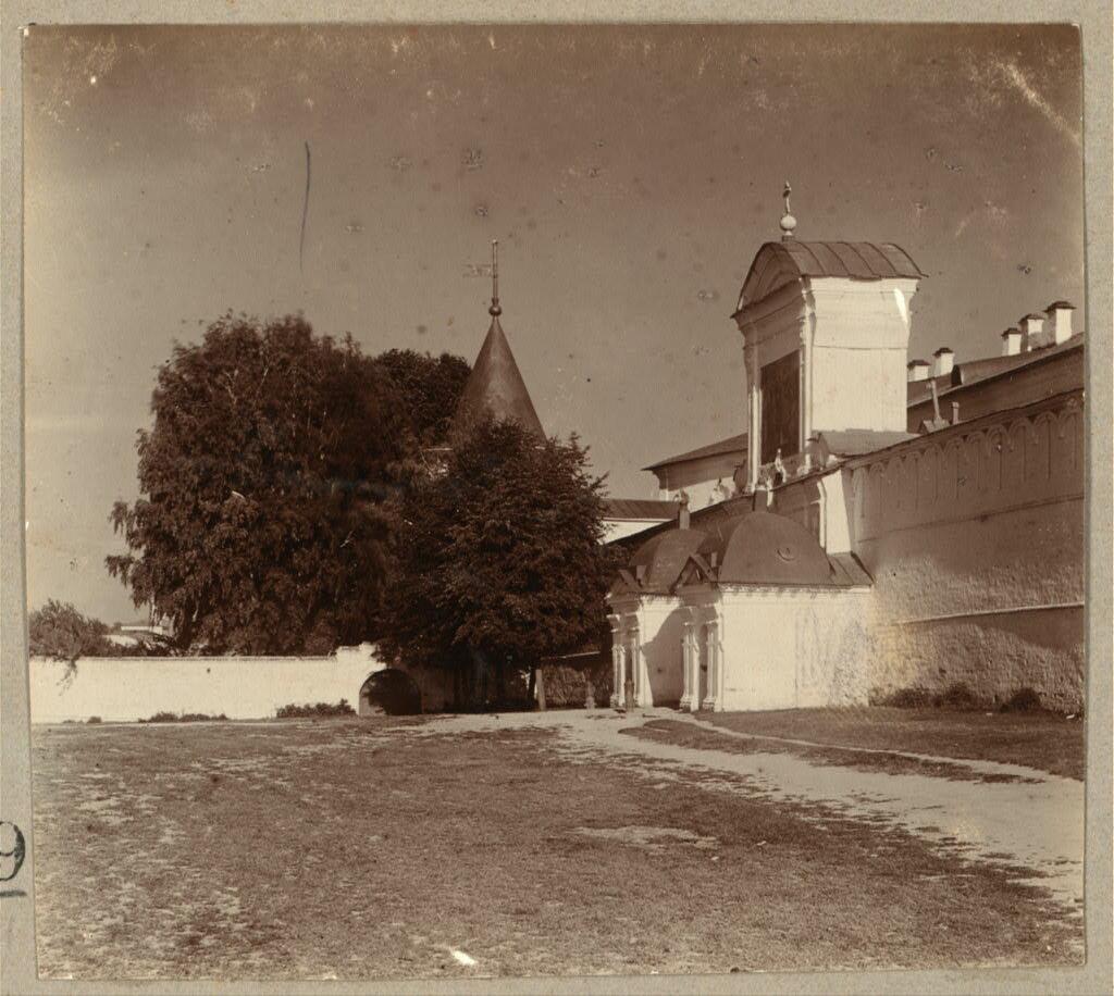 Екатерининские врата. Ипатьевский монастырь. 1910.