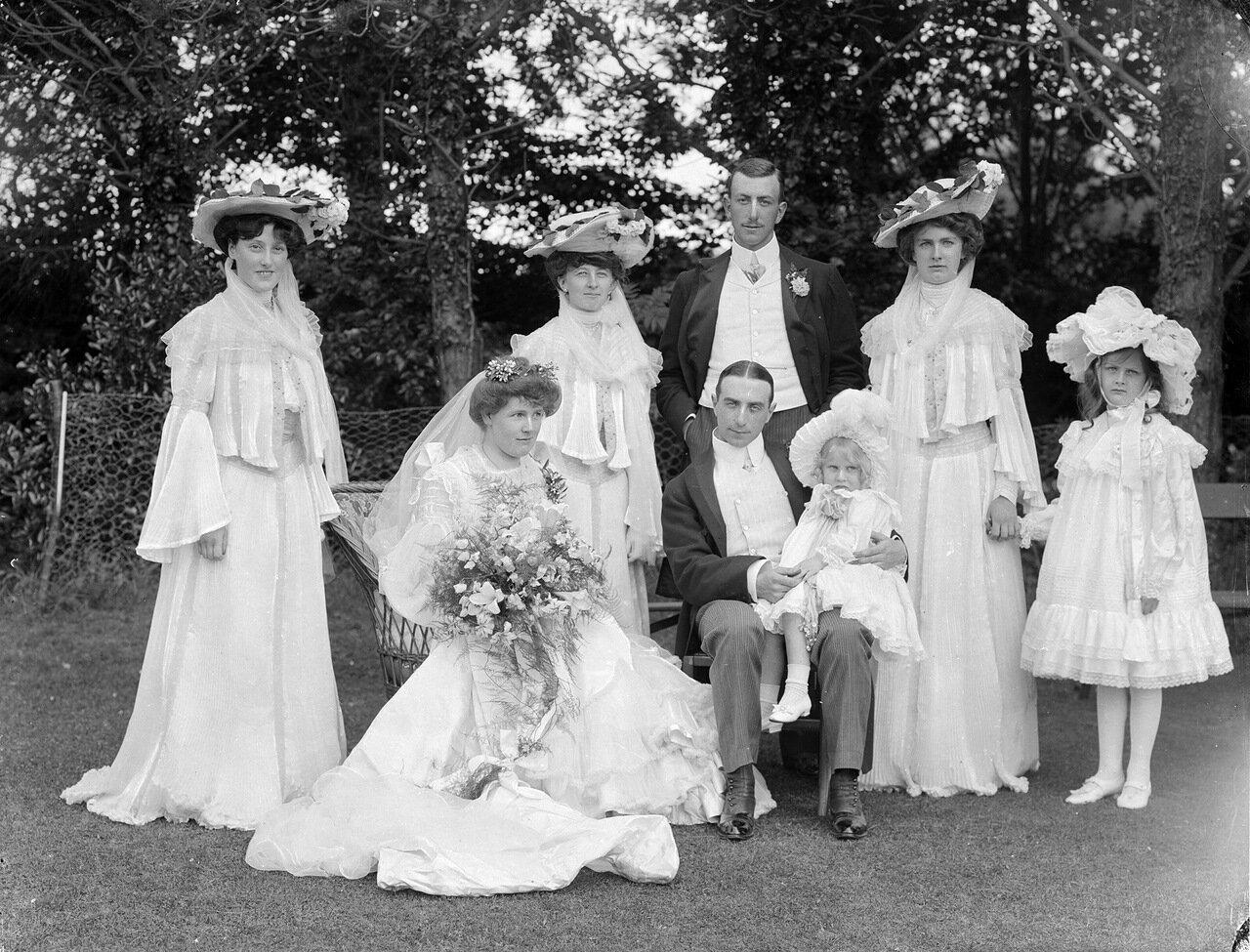Свадьба. Четверг, 6 Августа 1903.