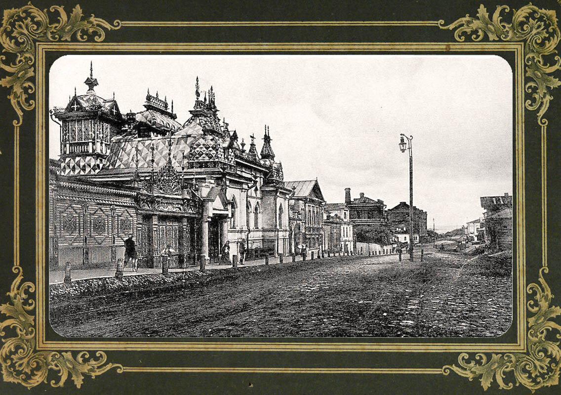71. Казанская улица и домъ Полуектова