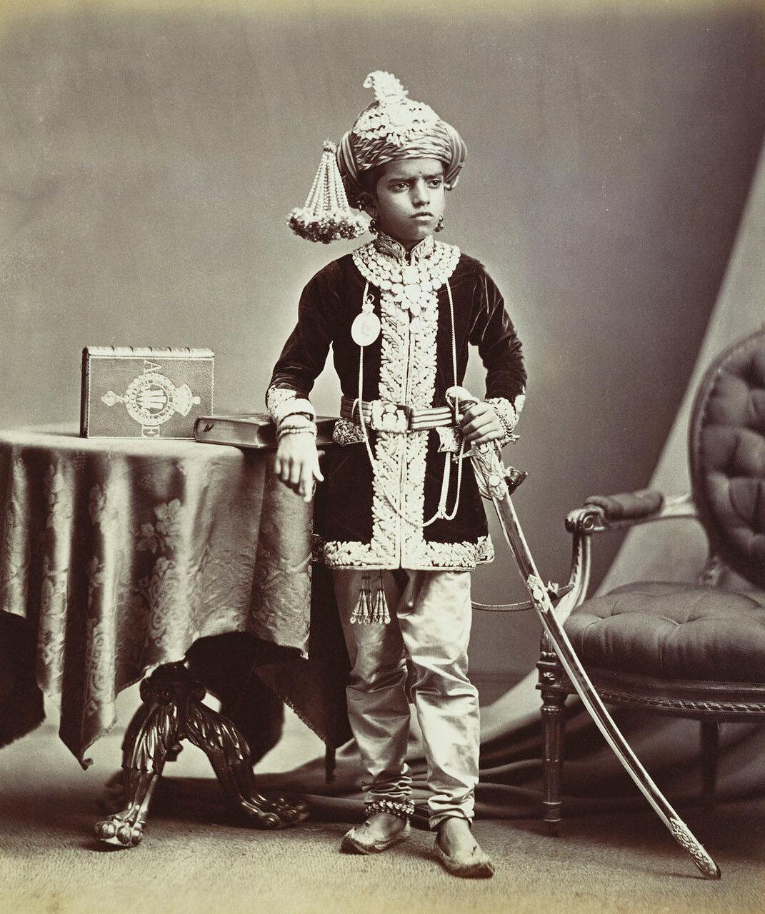 Саяджи III , Гаеквад (1875-1938) из княжества Барода