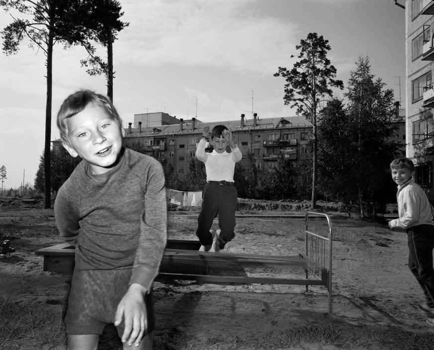 1989 год. Братск. Ребята с нашего двора.