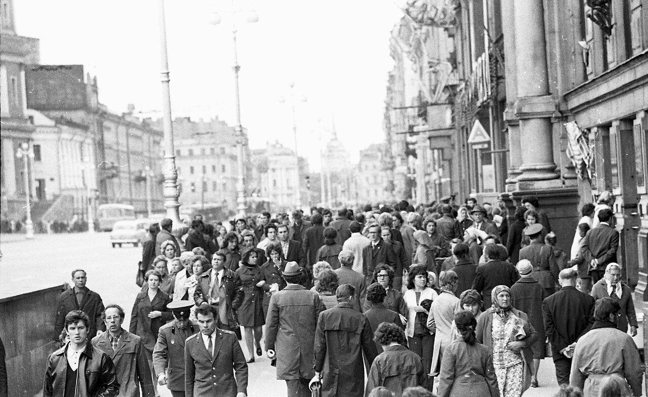 Невский проспект, июня 1973