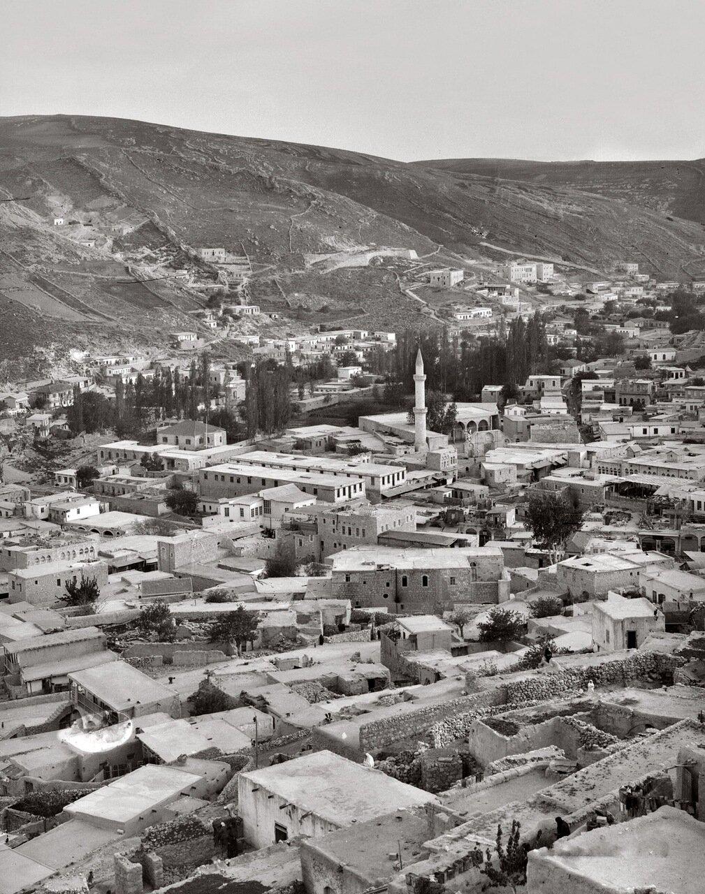 Современный город и мечеть. Древний Раббат Аммон или Филадельфия. Амман, Трансиордания. 1898-1946 гг.
