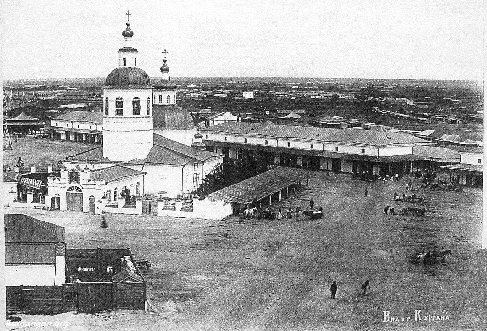 08. За Троицкой церковью здание Гостиного двора