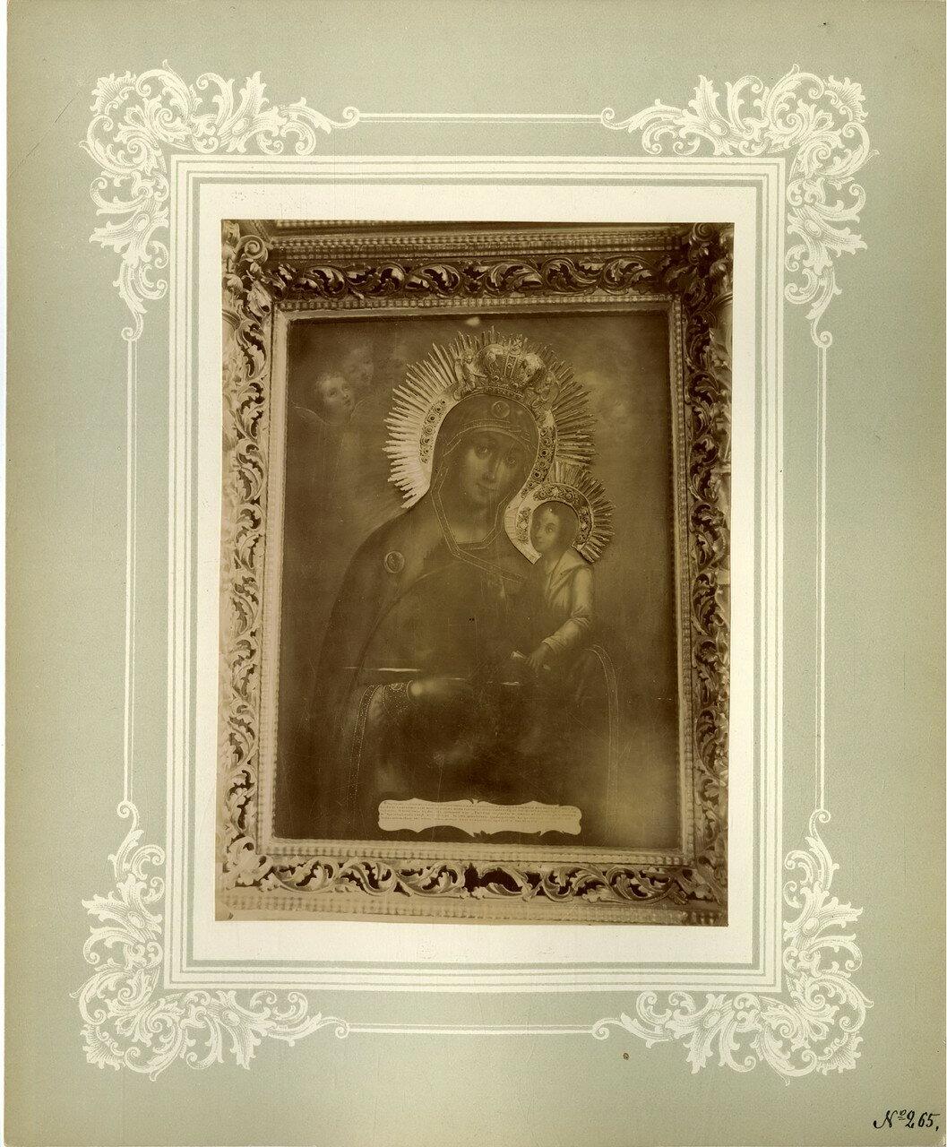 19. Благовещенская церковь, местная в иконостасе Успенского придела, Молчанская икона Божией Матери
