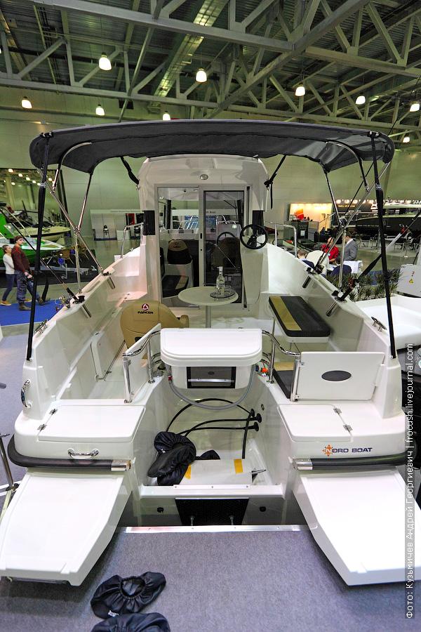 Международная выставка катеров и яхт в Крокусе