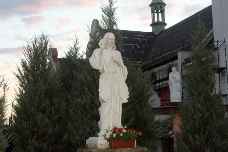 Свебодзин. Pomnik Chrystusa Króla