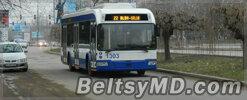 В Кишинёве бьют стёкла новых троллейбусов — 9 случаев
