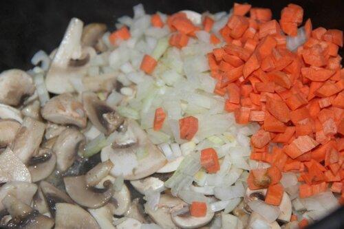 гороховый супчик с грибами