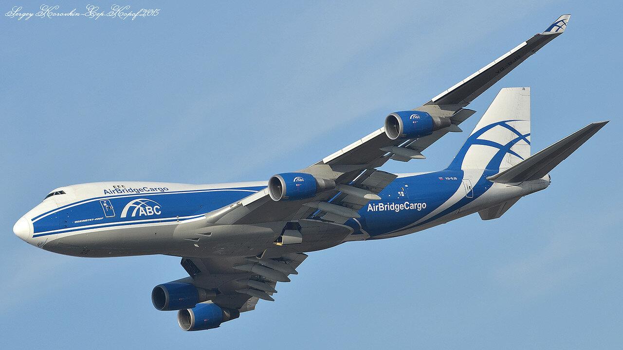 Boeing 747-446(F) AirBridgeCargo VQ-BJB Фото №2
