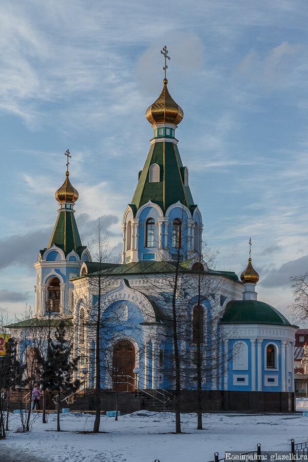 Екатеринбург. Церковь иконы Божией Матери Державная