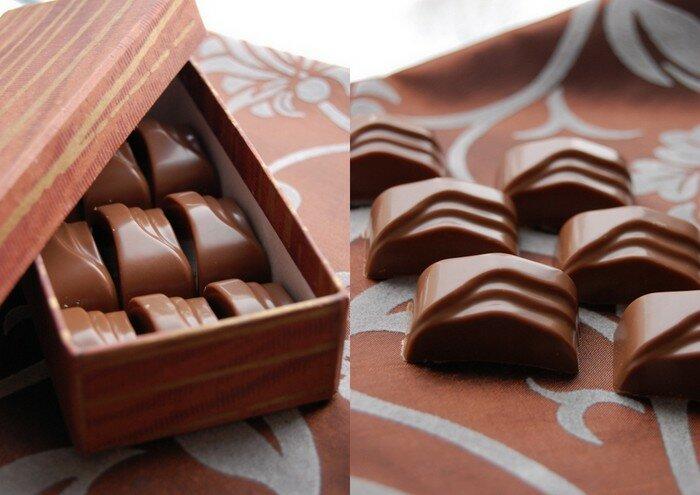 конфеты с солёной карамелью