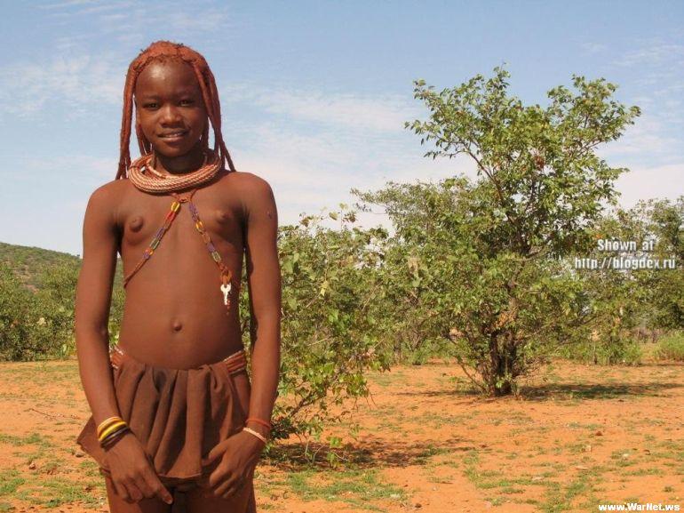 африканские голые девушки фото