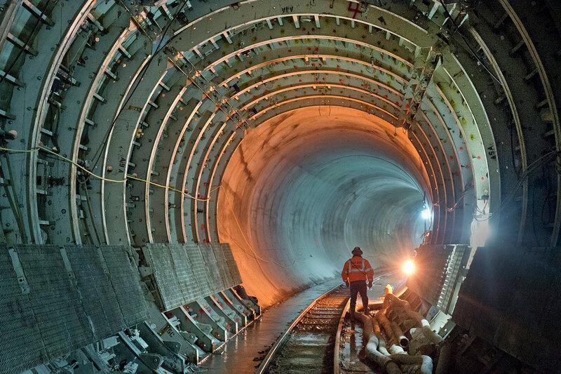 Строительство метро в Нью-Йорке